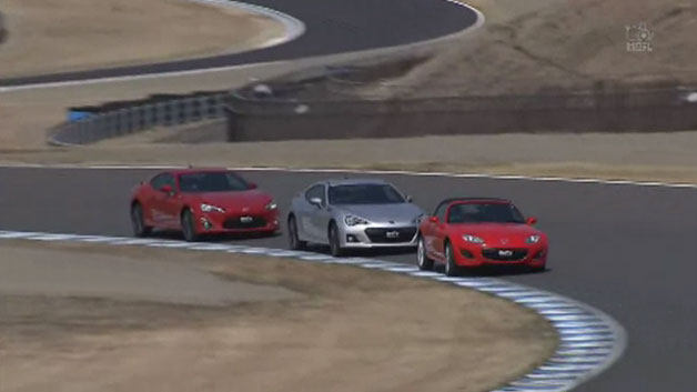 Japanese sports cars at Twin Ring Motegi