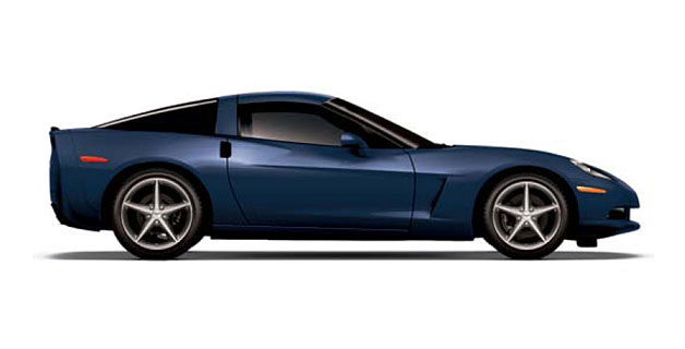 2013 Chevrolet Corvette Night Race Blue - in profile