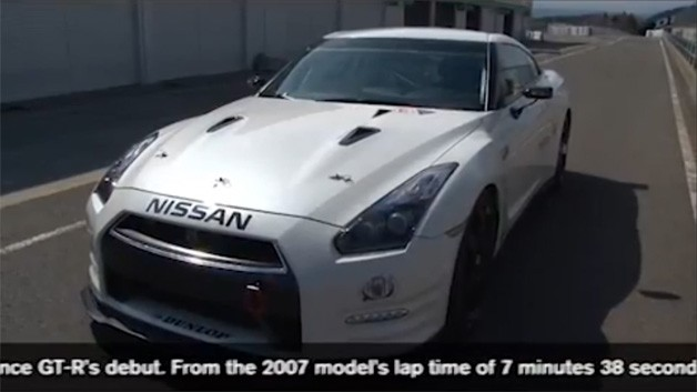 Nissan GT-R at the 24 Hours of Nurburgring