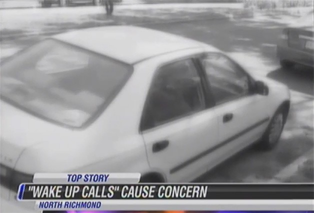Richmond PD Wake-Up call report screencap