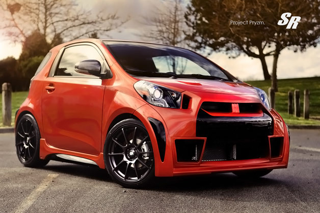 SR Autos' tuned Scion IQ, a.k.a. Project Pryzm