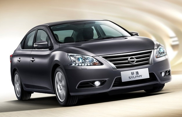 CDM Nissan Sylphy - front three-quarter view