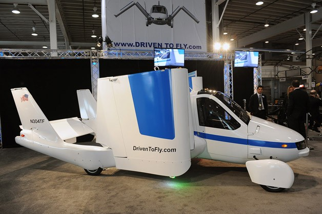 Terrafugia Transition Flying Car - Live at New York Auto Show unveiling