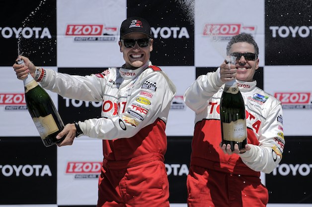 Adam Carolla Toyota Celebrity race