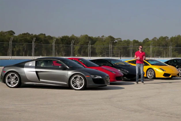 Translogic drives the Lamborghini Gallardo