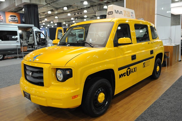 VPG Autos MV-1 Taxi - New York Auto Show live reveal