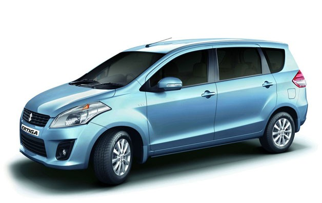 2012 Maruti Suzuki Ertiga - front three-quarter view