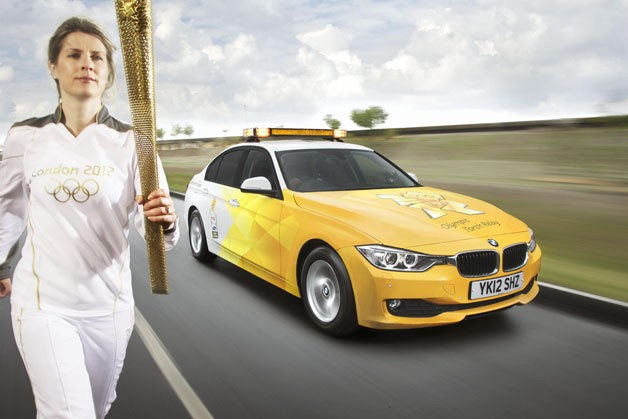 BMW unveils armada of vehicles for London Olympics