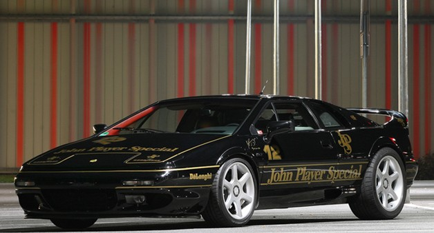 Lotus law channels a Esprit of Ayrton Senna