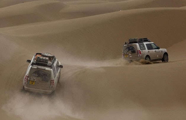 Land Rover completes 8,000-mile Journey of Discovery from Birmingham to Beijing