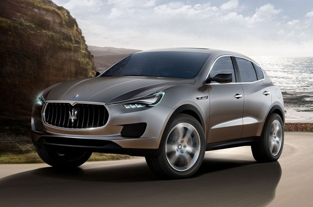 Maserati Kubang - front three-quarter shot on seashore