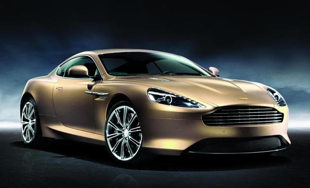 Aston Martin Virage Dragon 88 - front three-quarter studio image