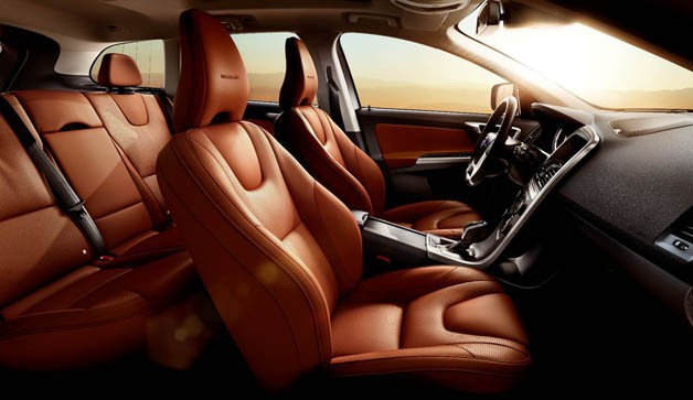 2012 Volvo XC60 Inscription interior cutaway