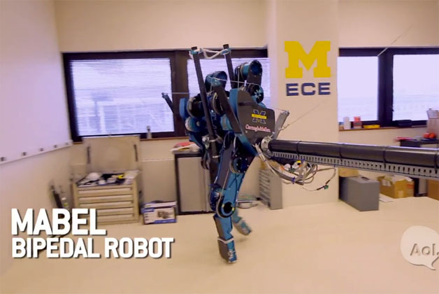 MABEL the robot on Translogic