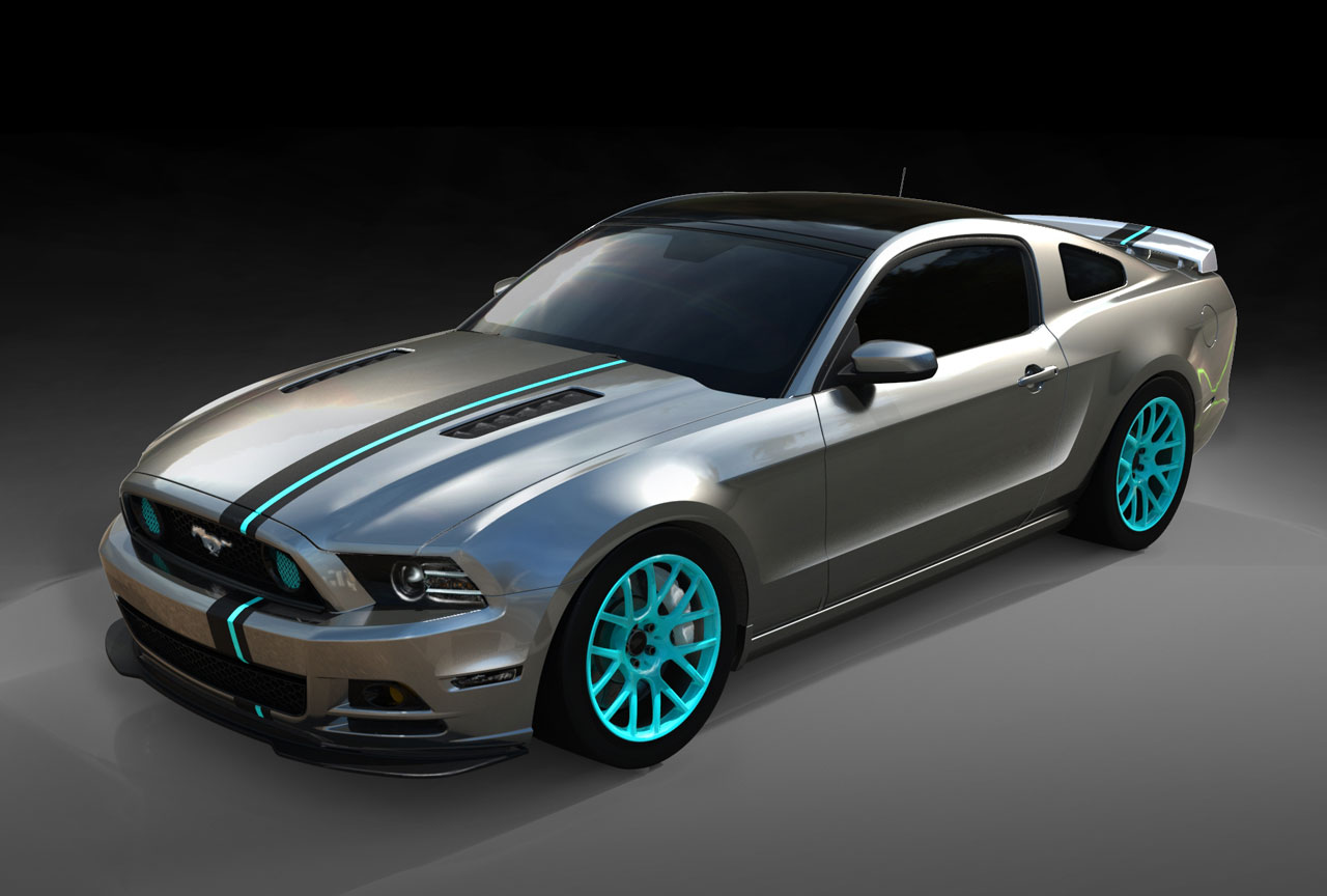 SEMA Mustang Build Powered by Women Photo Gallery - Autoblog