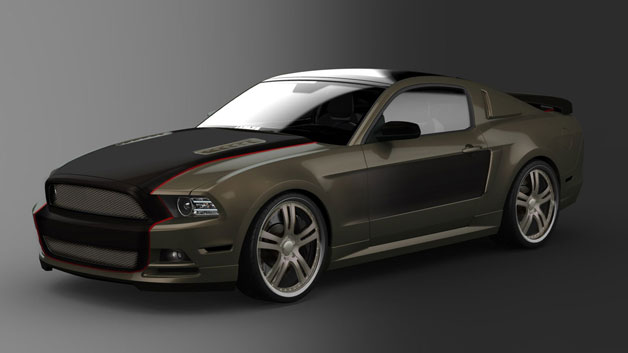 SEMA Mustang Build