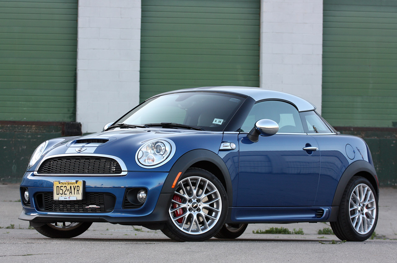2012 mini john cooper works coupe review photo gallery autoblog. Black Bedroom Furniture Sets. Home Design Ideas