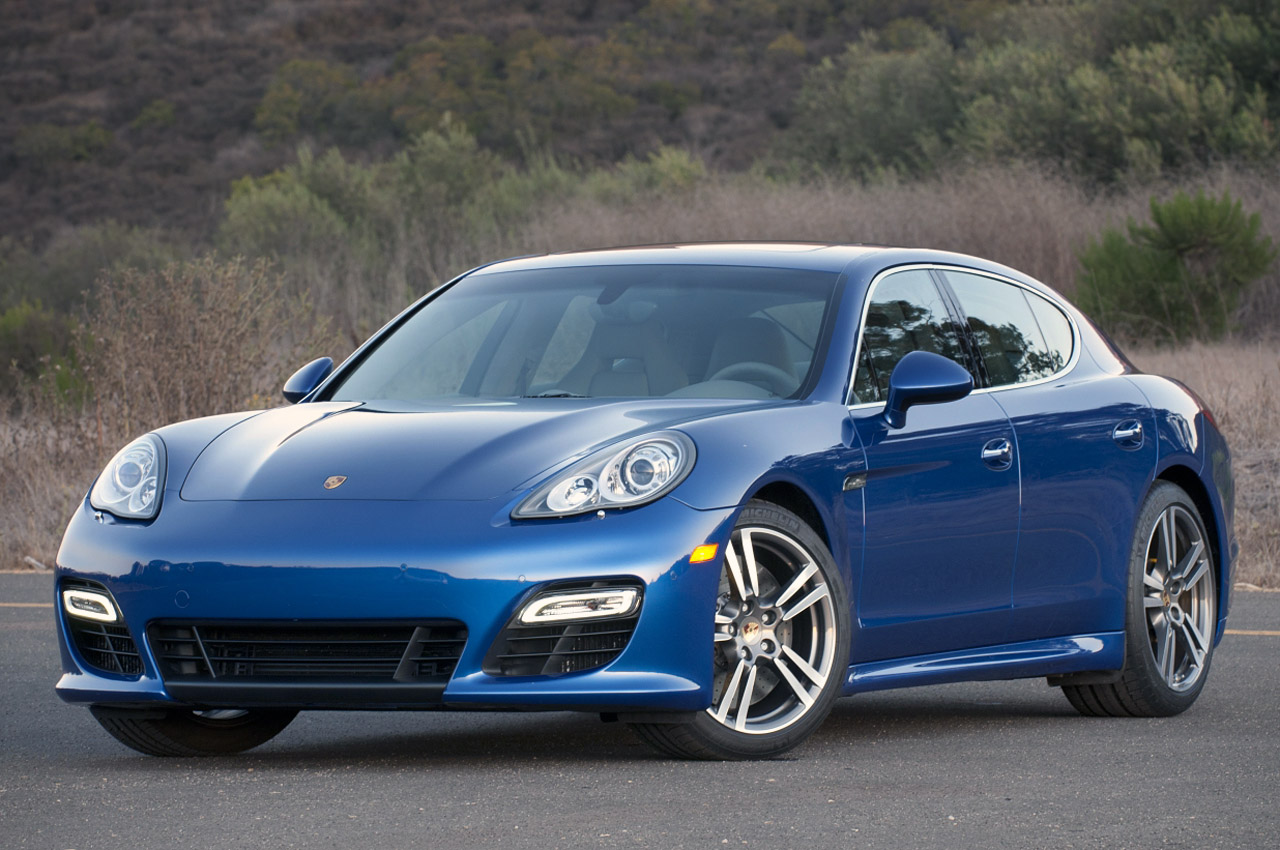 2012 Porsche Panamera Turbo S Review W Video