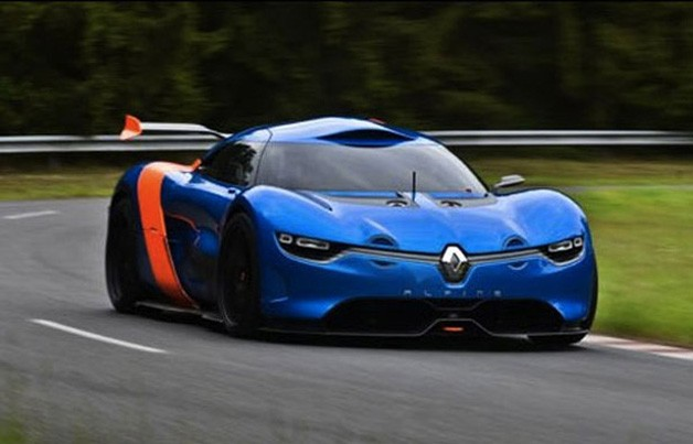 Renault Alpine: New images as well as teaser video aspect [w/video]
