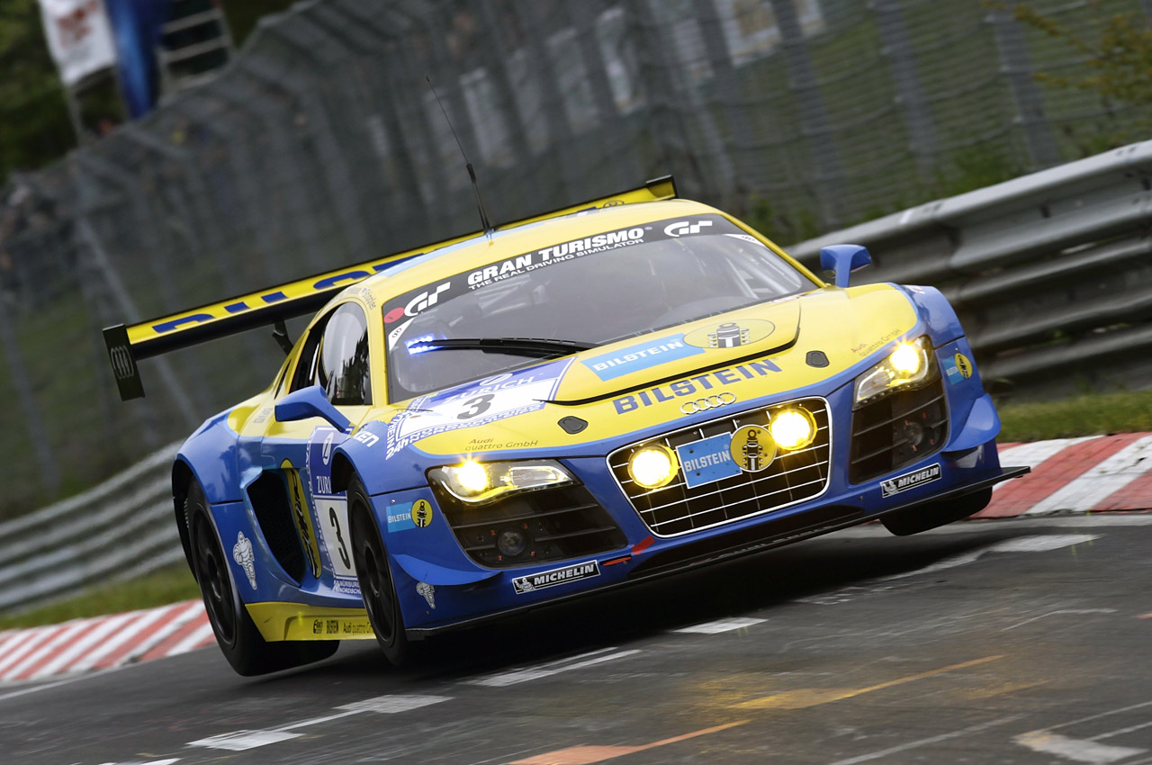 Audi R8 Lms Ultra At 2012 N Rburgring 24 Hours Photo