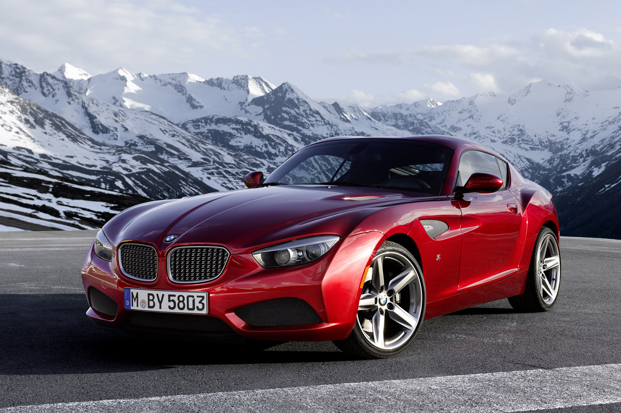 Bmw Reveals Stunning Zagato Coupe At Villa D Este Autoblog