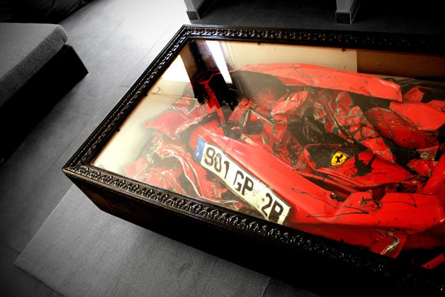 Ferrari Table by Charly Molinelli