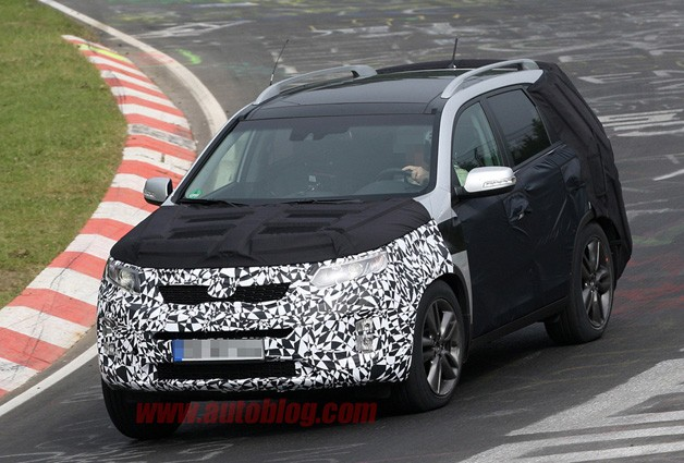 Kia Sorento Spy Shot