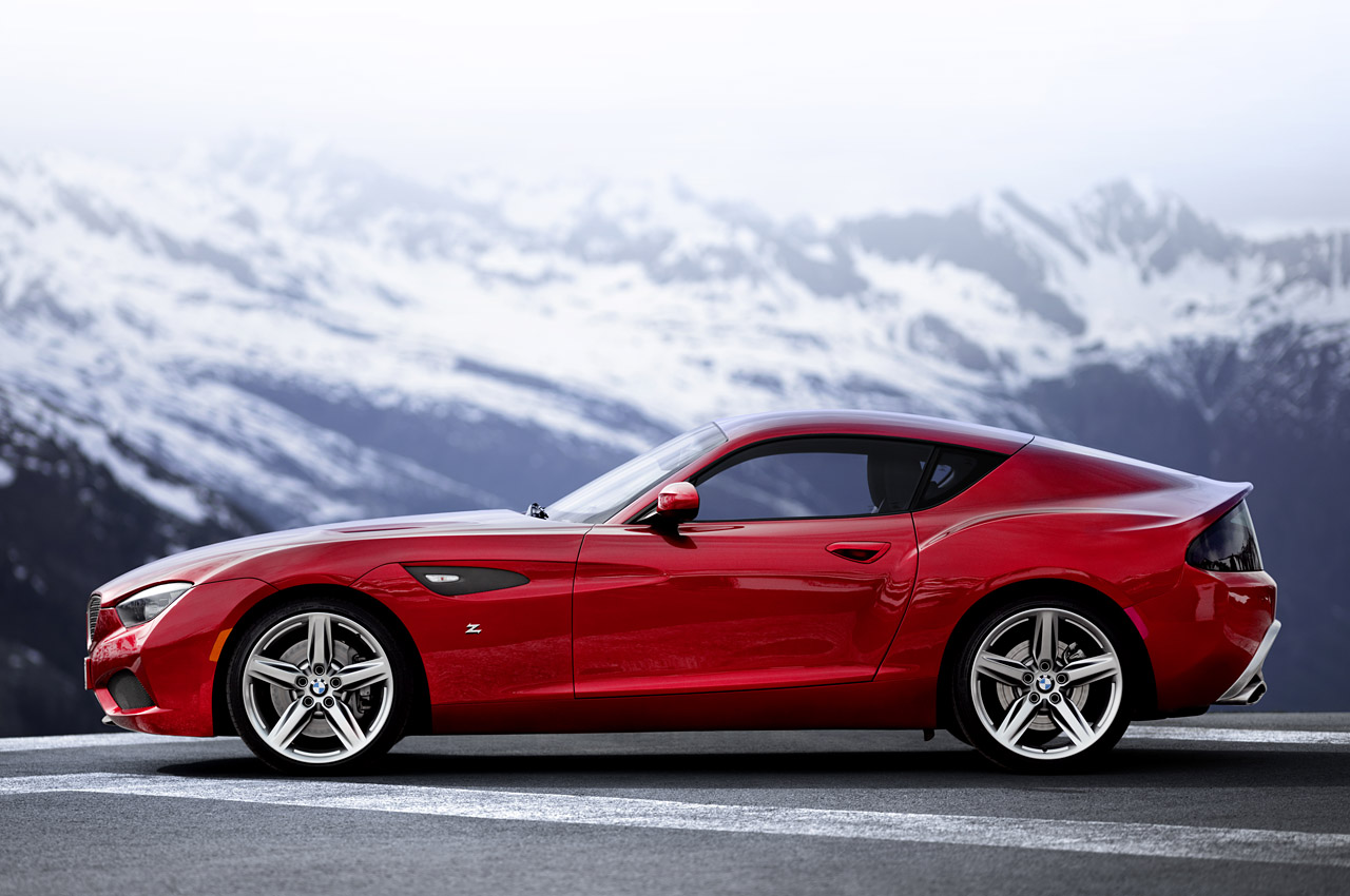 BMW reveals stunning Zagato Coupe at Villa d'Este - Autoblog