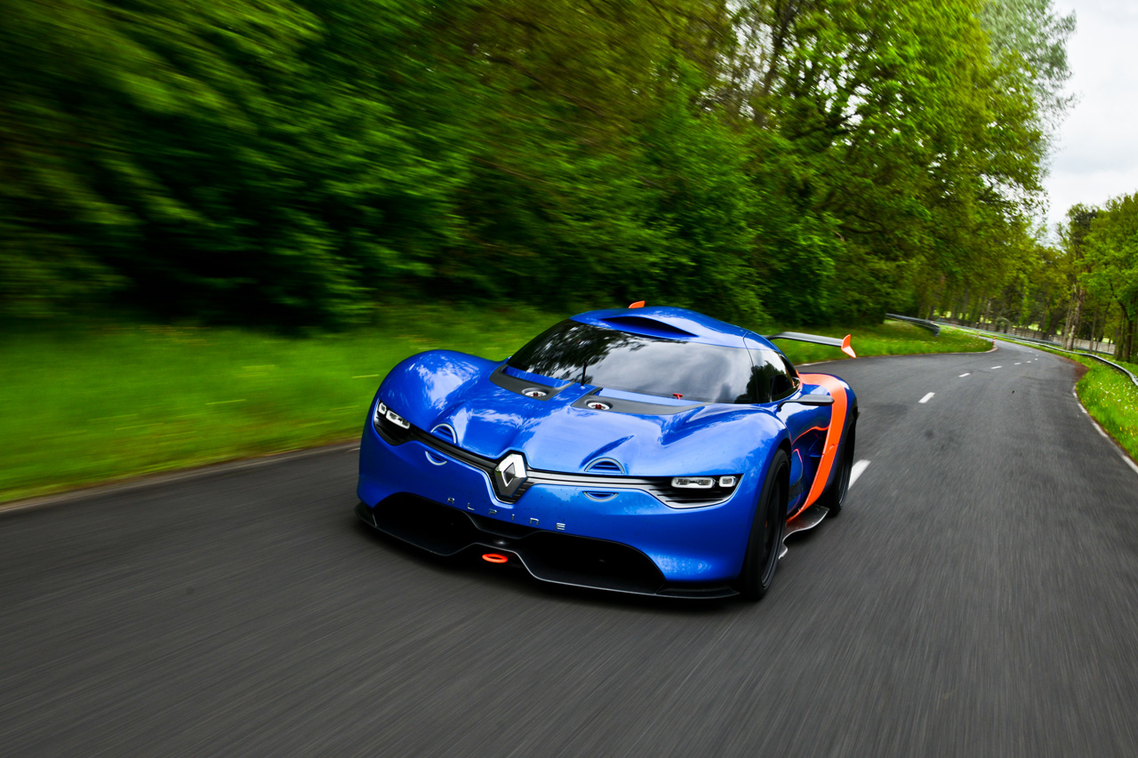 renault alpine konzept vektorgrafik - photo #22