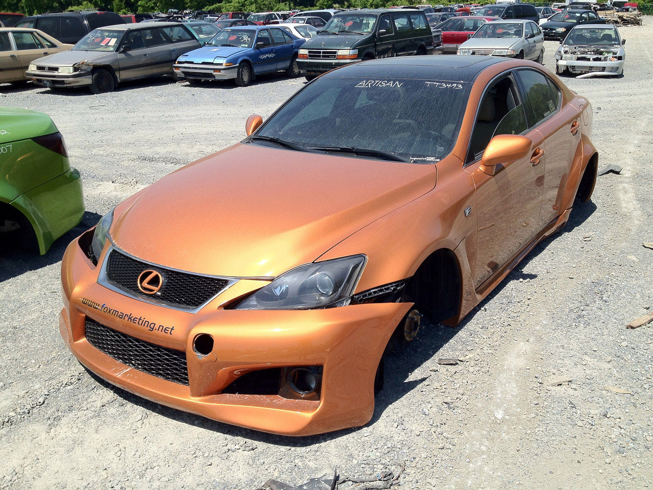 Crushed Lexus Sema Cars Photo Gallery Autoblog