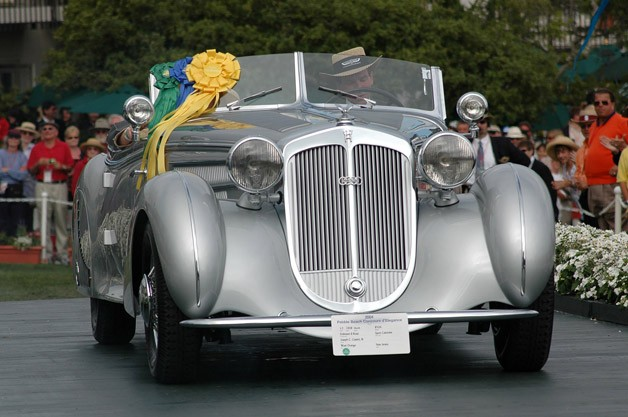 1938 Horch 853A Erdmann &amp; Rossi Sport Cabriolet