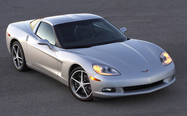 2012 Chevrolet Corvette - front three-quarter view - silver