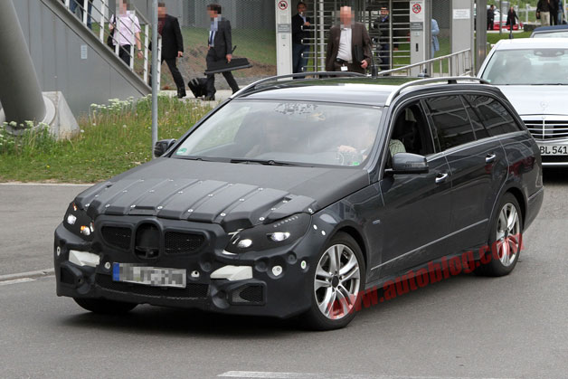2013 Mercedes-Benz Spy Shots