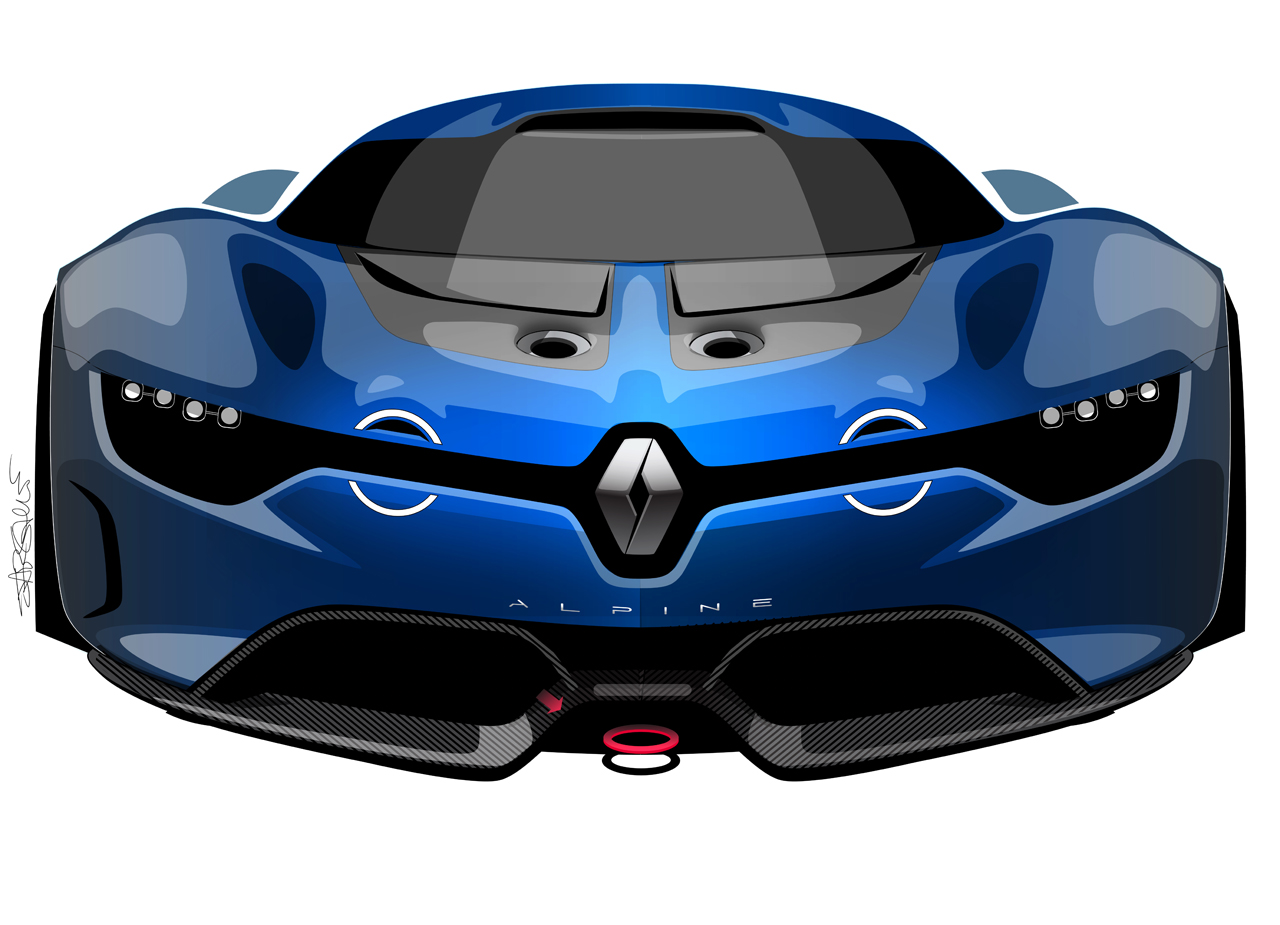 renault alpine a110 50 concept photo gallery autoblog. Black Bedroom Furniture Sets. Home Design Ideas