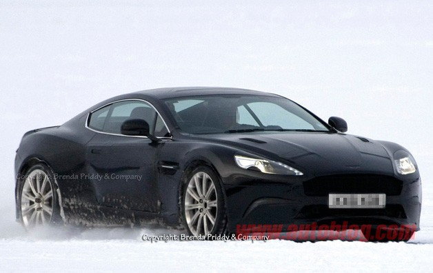 Aston Martin Spy Photo