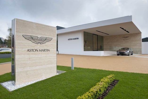 Aston Martin Works at Newport Pagnell