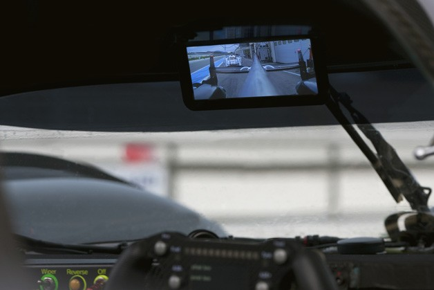 Audi R18 rear-view camera system
