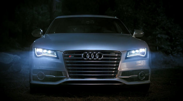 Audi S7 headlights