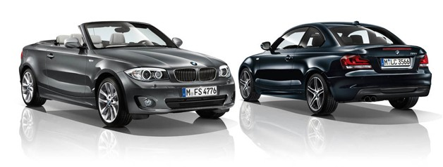 2012 BMW 1 Series Convertible and Coupe