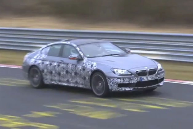 BMW M6 Gran Coupe caught at Nurburgring
