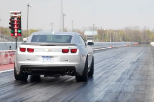 2012 Chevrolet Camaro ZL1 drag strip