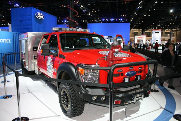 Ford rescue truck concept