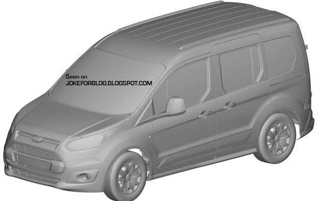 Ford Transit Connect Patent Images