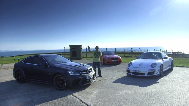 Porsche 911 GT3 RS 4.0, Mercedes-Benz C63 AMG Black Series, BMW M3 GTS