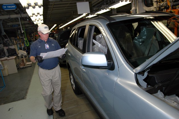 Hyundai Motor Manufacturing Alabama - line worker