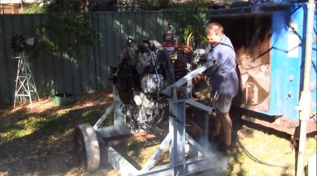 Homemade Radial Engine