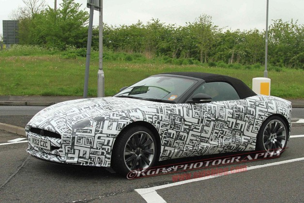 Jaguar F-Type R Spy Shots