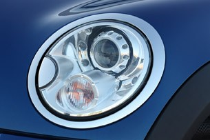 2012 Mini John Cooper Works Coupe headlight