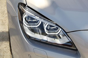 2013 BMW 6 Series Gran Coupe headlight