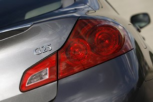 2012 Infiniti G25 taillight